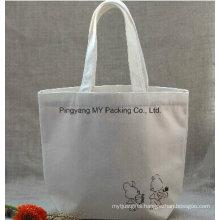 Eco Fabric Shopper Handle Cotton Bag