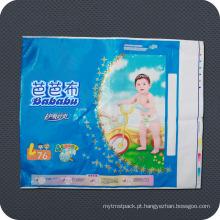 Saco de Embalagem Sanitária de Plástico Descartável Premium