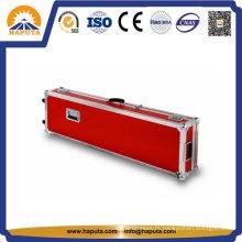 Caixa de instrumento de vôo de guitarra de alumínio vermelho (HF-6025)
