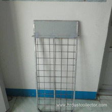 Filter dust cage for filter bag support