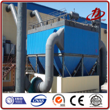 Cement kiln dust collection baghouse