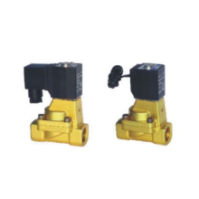 Indirect acting and normally closed type 2/2 way solenoid valve 2W series fluid control valves