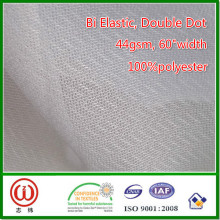 Bottom Preis schmelzbare glatt gewebte Stretch-Einlage