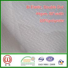 Interlineado de estiramiento tejido plano llano fusible del precio inferior