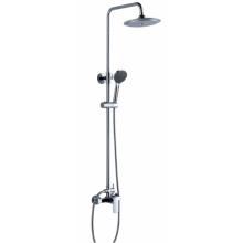 Misturador sanitário do chuveiro do banheiro redondo (9118)