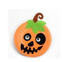Kinder DIY Halloween Handwerk besitzen Filz Stoff Bulk-Pappteller