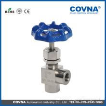 """DN15 Conexión de válvula de aguja de alta presión de 1/2 """"Hembra Acero inoxidable 316 304 202"""