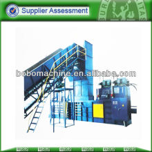 semi-auto horizontal hydraulic cardboard baling machine