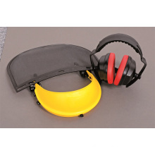 Labor Protection Mesh Visor & Ear Muff Set Handyman Accessories