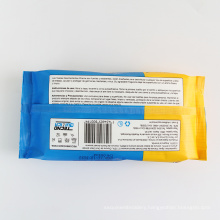 Customize White Color Non Alcohol Wipes