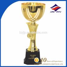 Рекламные высокого качества изготовленный на заказ металл трофей чашки спортивные трофеи