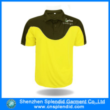 Custom Sports Wear Fashion Two Tone Sports Polo Shirts