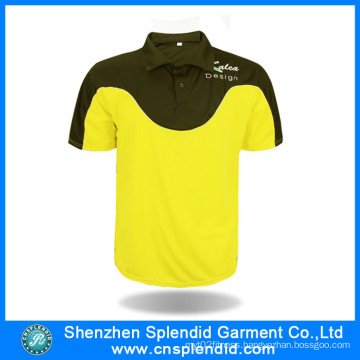 Custom Sports Wear Fashion Two Tone Sports Polo Shirts