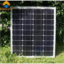 Módulo fotovoltaico de alta potencia de alta calidad 80W Mono Panel Solar
