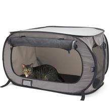 Canil portátil de assento de carro para animais de estimação