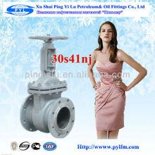 Xushui pingyilu russian Gost standards carbon steel gate valve in oil industrial