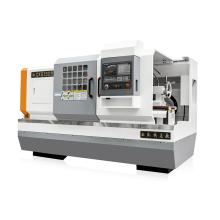 Metall Horizontal Flachbett CNC Drehmaschine Maschine