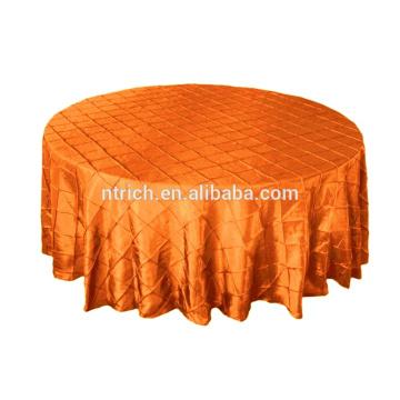 Taft Pintuck Tischdecke für Bankett