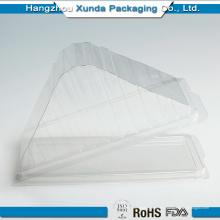 Boîte d'emballage Sandwitch en plastique transparent OEM