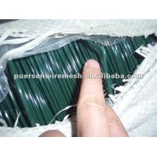 Fio de ferro revestido de PVC