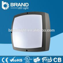 Alumínio + PC Cover IK10 IP65 Candeeiros de parede de iluminação exterior, LED Outdoor Wall Lighting