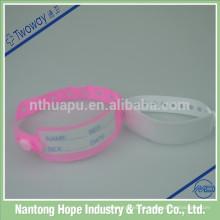 pulseiras de identificação médica do bebê