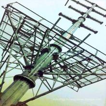 220кВ одинарный колонковый терминал силовая передача стальная башня