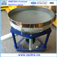 Máquina de recubrimiento en polvo para tamizar polvo