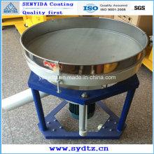 Máquina de revestimento a pó para peneiramento de pó