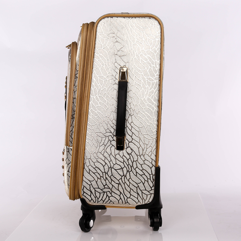 best PU trolley luggage