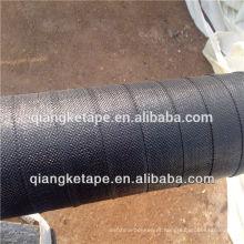 Revestimento de polipropileno tecido de revestimento aplicado frio fitas de envolvimento de tubos de proteção contra corrosão de pipelines novos e existentes
