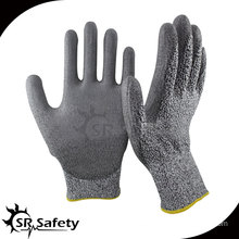 SRSAFETY 13 gauge Cut level 5 protective gloves cutting glass