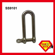 Marine Hardware Stainless Steel Long Type D Shackles