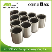 Peças sobressalentes para bombas de lama de aço inoxidável resistentes à abrasão