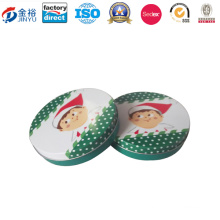 Round Shaped Metal Promotion Gift for Gift Packaging