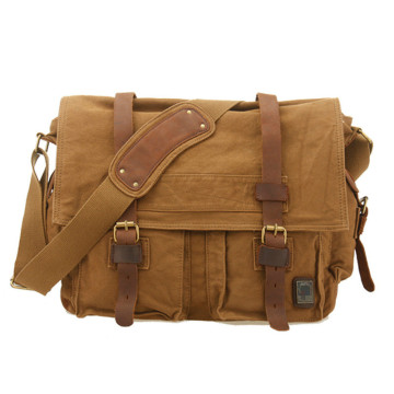 Personalizzati Crossbody Messenger Laptop Canvas Shoulder Bags Uomo