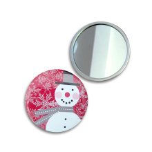 58mm Metal Promotion Gift for Lady Cosmetic Mirror Travel Mirror