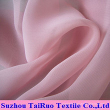 Polyester Chiffon mit Stock für Garment Fabric