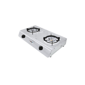 2 Super Fire Burner Memasak Gas Cooker