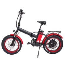 2020 Colorful Rim Snow/Beach bicycle 48v1000W 20''x4.0 foldable fat electric bike with colorful display