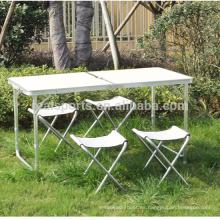 Mesa y mesa plegables portátiles Mesa y sillas plegables Mesa y sillas plegables