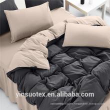 Sistema de lecho llano juegos de cama sólidos al por mayor del sentido del hogar
