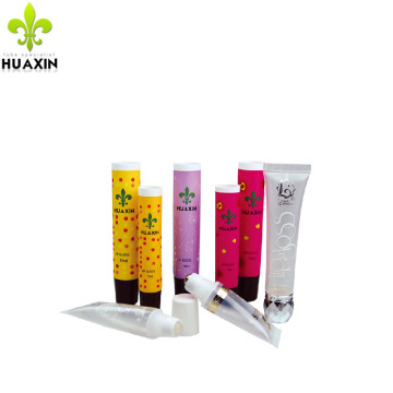 cosmetic lipgloss tube plastic tube for cosmetics packaging