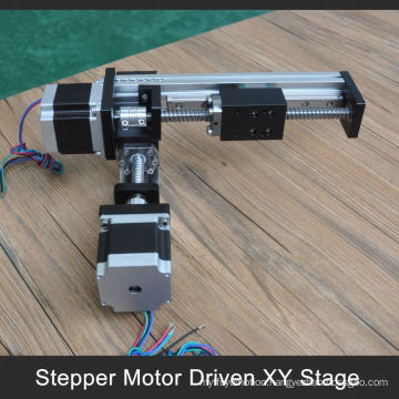 accept paypal 100 to 1000mm stroke xy motorized table for industrial robot arm