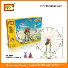 LOZ plastic ferris wheel toys