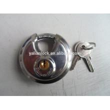 304 stainless steel round padlock