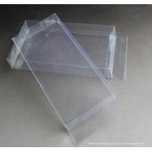 Caja plástica blanca OEM con impresión