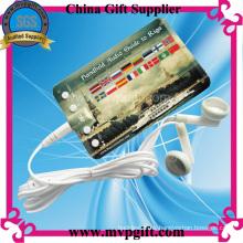 Estilo de moda reproductor de mp3 para regalos (m-ub05)