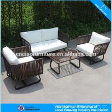 Outdoor Furniture New design patio sofa PE rattan 4 seater sofa