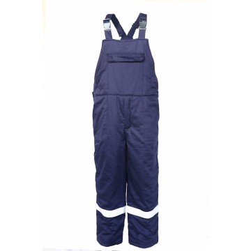 Winter FR tahan air antistatik coverall minyak